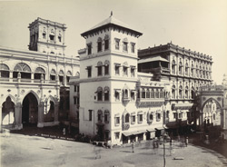 The Palace [including bazaar gate and Aiyena Mahal, Junagadh]